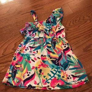 Crazy 8 one-shoulder dress